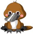 Fun zoo Platypus vector image