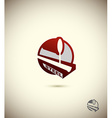 logo steel industry Concept design for the factory vector image