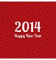 Grunge text New Year background on a snowflake vector image vector image