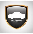 transport signal design vector image