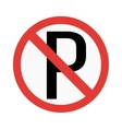 prohibiting sign vector image