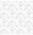 abstract seamless geometric pattern with squares vector image