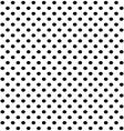 Black dots vector image