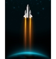 Rocket Launch vector image