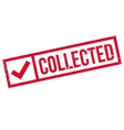 Collected rubber stamp vector image