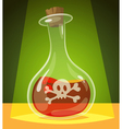 Poisonous potion vector image