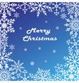 Postcard Merry Christmas vector image