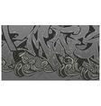 Alleyway Graffiti Background vector image