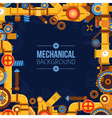Machinery Parts Background vector image