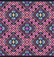 seamless tribal boho pattern vector image