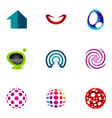logo design elements set 49 vector image