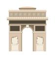 paris city design vector image