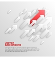Overlapping Arrows Concept vector image