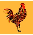 Rooster isolated vector image
