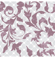 vintage seamless floral ornament vector image vector image