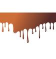liquid chocolate vector image