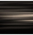 Wavy metallic background Steel plate template vector image