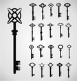 Antique Keys vector image