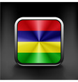 original and simple Mauritius flag official colors vector image