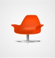 Plastic Chair vector image