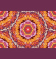 seamless abstract hand-drawn pattern red spirals vector image