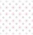 Geometric seamless pattern with rhombuses vector image
