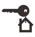House key vector image