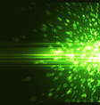 bright green abstract party background vector image