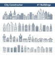 City builder vector image