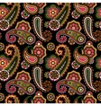 Arabic pattern with paisley vector image vector image