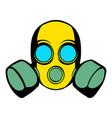 respirator icon icon cartoon vector image