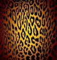 jaguar skin vector image