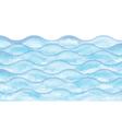 Watercolor wave vector image