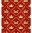 royal border vector image