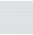 Hexagonal pattern vector image vector image