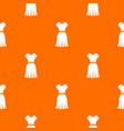 dress pattern seamless vector image