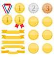 Medals and Ribbons vector image
