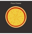 Pizza cheese vector image