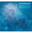 Urban Blueprint vector image