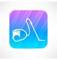 vacuum cleaner icon vector image