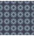 Ethnic seamless pattern with round elements vector image