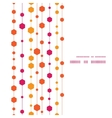 abstract colorful stripes and shapes vertical vector image vector image