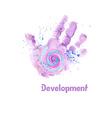 Handprint2 vector image