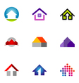 logo design elements set 55 vector image