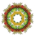 Thai mandala vector image