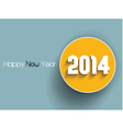 Simplistic text background for the New Year vector image vector image