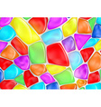 background of colored stones vector image vector image