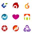 logo design elements set 56 vector image vector image