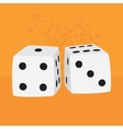 Pair of dices vector image