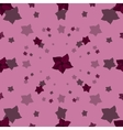 Cartoon seamless pattern with blossoms vector image